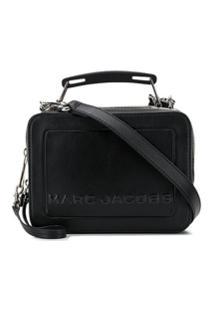 Marc Jacobs Bolsa Transversal Com Logo - Preto