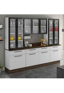 Cozinha Compacta Exclusive 11 Pt 4 Gv Branca