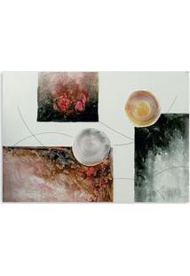 Quadro Abstrato I Uniart Colorido 30X30Cm