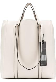 Marc Jacobs Oversized Tag Tote Bag - Branco