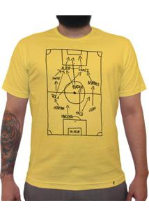Super Star Soccer Deluxe - Camiseta Clássica Premium Masculina