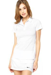 Camisa Polo Nike Sphere Ss Branca