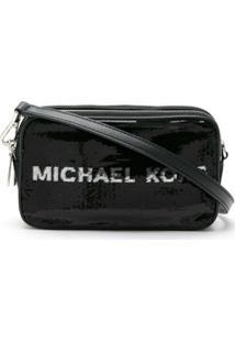 Michael Michael Kors Bolsa Tiracolo Kenly - Preto