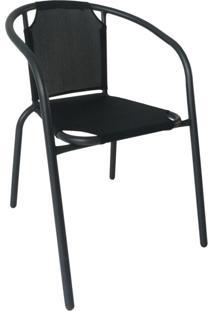 Cadeira De Jardim Mona Preta