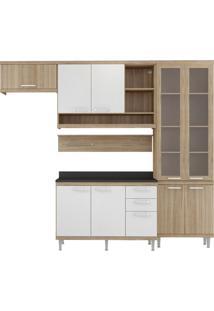Cozinha Compacta Roberta Ii 9 Pt 3 Gv Argila