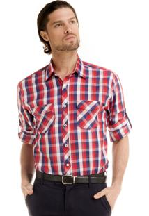 Camisa Buon Giorno Alejandro Xadrez
