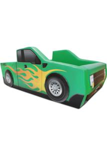 Cama Carro Camionete Verde