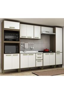 Cozinha Completa 6 Peças 13 Portas Vitória Siena Móveis