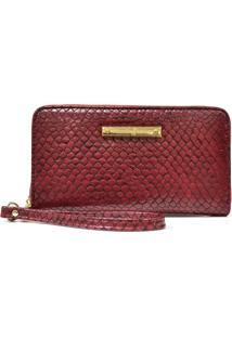 b8b9a341a R$ 13999,00. Oscar Calcados Carteira Tipo Da Moda Feminina Dourada Vermelha  Textura ...