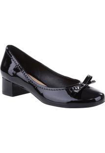 9b212a880 ... Sapato Tradicional Envernizado - Preto - Salto: 3,5Arezzo ...