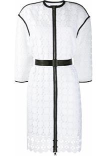 Karl Lagerfeld Casaco Karl Com Renda - Branco