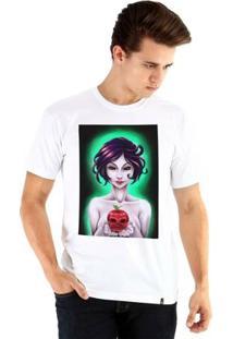 Camiseta Ouroboros Manga Curta Branca De Neve Masculina - Masculino