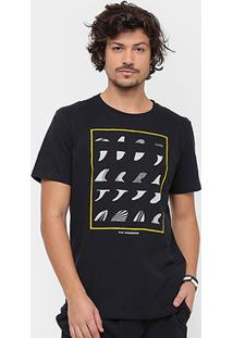 Camiseta Redley Fin Hoarder Silk Masculina - Masculino
