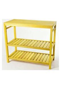 Aparador Troia Estrutura Amarelo 75Cm - 61440 Amarelo