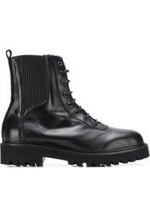 Karl Lagerfeld Bota De Caminhada Karl X Carine - Preto