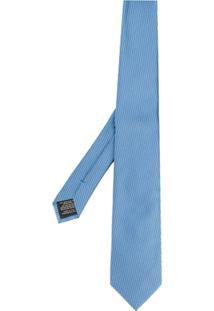 Z Zegna Gravata Listrada - Azul