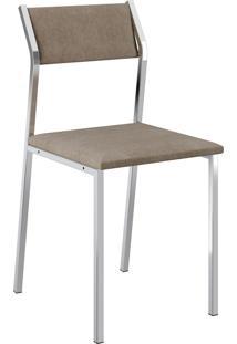Kit 2 Cadeiras 1709 Napa Móveis Carraro Marrom