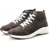 5d5d51d206 Coturno Tênis Casual Jhon Boots Clássico Cinza