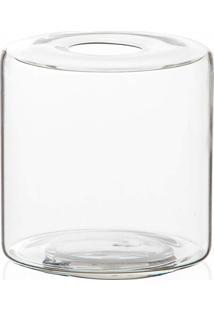 Vaso Em Vidro Anhua Glass Transparente 11Cm