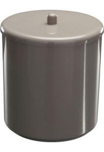 Cesto De Lixo Com Tampa 21 X 25 Cm Argila Astra