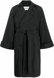 Henrik Vibskov Trench Coat Plus - Preto