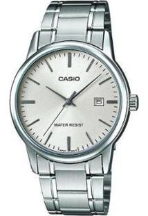 Relógio Feminino Casio Collection Analógico - Unissex-Prata