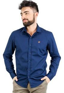 Camisa Norfolk Com Bordado - Masculino