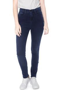 Calça Jeans Calvin Klein Skinny Básica Azul-Marinho