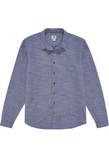 Camisa Timberland Cotton Stripes - Masculino-Azul