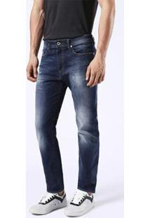 Calça Jeans Diesel Buster Masculina - Masculino-Azul