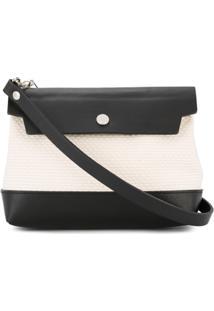 Cabas Bolsa Tiracolo 'Micro Shoulder' Pequena - Branco