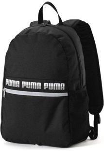 Mochila Puma Phase Ii Logo Preta