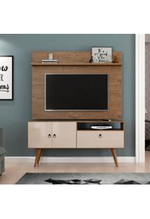 Rack Com Painel Para Tv De 46 Polegadas Topázio Demolição E Off White