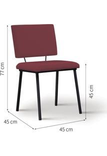 Cadeira De Jantar Antonella Marsala