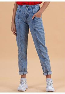 Calça Jeans Paris Azul