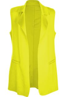 Colete Outletdri Maxi Neoprene Amarelo