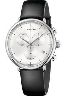 Relógio Calvin Klein K8M271C6 Prata/Preto