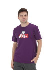 Camiseta Fatal Estampada 20310 - Masculina - Roxo