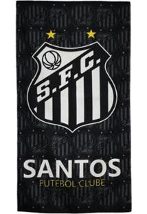 Toalha De Banho Bouton Santos Felpuda 70 X 1,30 Cm - Unissex