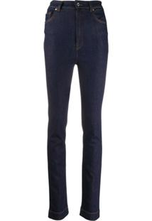 Dolce & Gabbana Calça Jeans Slim Azul