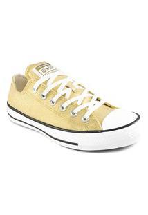 Tênis Feminino Converse Ct All Star Lurex Ct1463 Converse Dourado