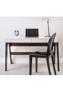 Escrivaninha 2 Gavetas 26105 Trend Artesano Trancoso/Off White