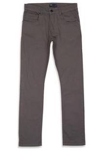 Calça Oakley 5 Pockets Slim Fit 2.0 Masculina - Masculino-Cinza