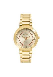 Relógio Condor Feminino Analógico Dourado Co2035Mqh4D