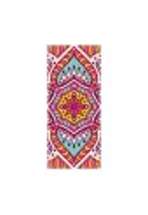 Adesivo Decorativo De Porta - Mandala - 2425Cnpt