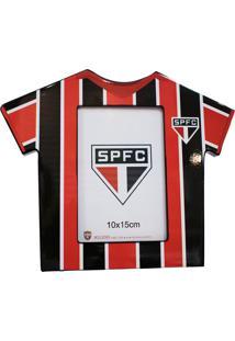 Porta Retrato Minas De Presentes Camisa Futebol Foto 10X15Cm - Spfc Colorido