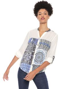 Camisa Desigual Gemma Branca