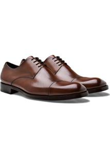 Sapato Social Brogan Derby Tom Masculino - Masculino-Marrom