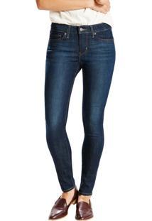 ... Calça Jeans Levis Feminina 711 Skinny 4 Way Stretch Azul Escuro Azul 10e26c7131d