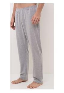 Calça Moletom Lisa Loungewear
